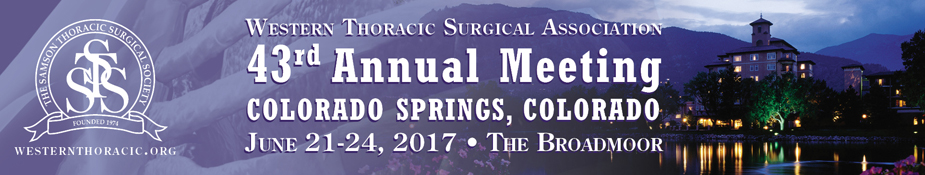 The Western Thoracic Surgical Association
