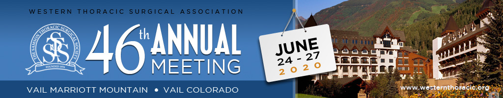 Save the Date for the 46th Annual Meeting in Vail, Colorado, taking place June 24-27, 2020.